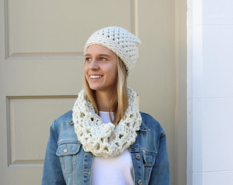 Crochet Kit | DIY | Crochet Pattern | Crochet Scarf / Cowl