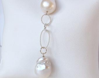 925 sterling silver bracelet, pearl bracelet, bracelet with silver, bracelet with pearls, bracelet with white pearls
