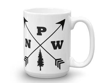 PNW Mug made in the USA