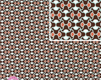 140258052 - Amy Butler August Fields Knot Garden Brown FULL BOLT