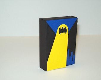 12 Batman Party Favor Box/Batman Party/Birthday Boy/ Party Supplies/