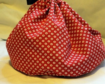 Large Drawstring Bag Pattern Tutorial by Skadoot on Etsy.