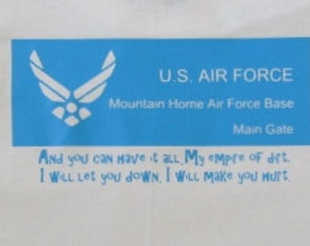 Mountain Home Air Force Base T-Shirt funny