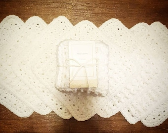 Crochet textured Wash Cloths / Dish Clothes