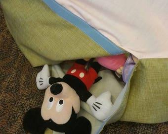 Stuffed animal storage bean bag bag style chair