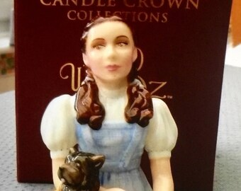 Wizard of Oz - Dorothy and Toto - DEPARTMENT 56 - Candle Snuffer Crown Collection