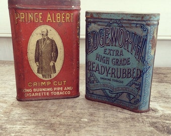 Prince Albert & Edgeworth Tobacco Tins