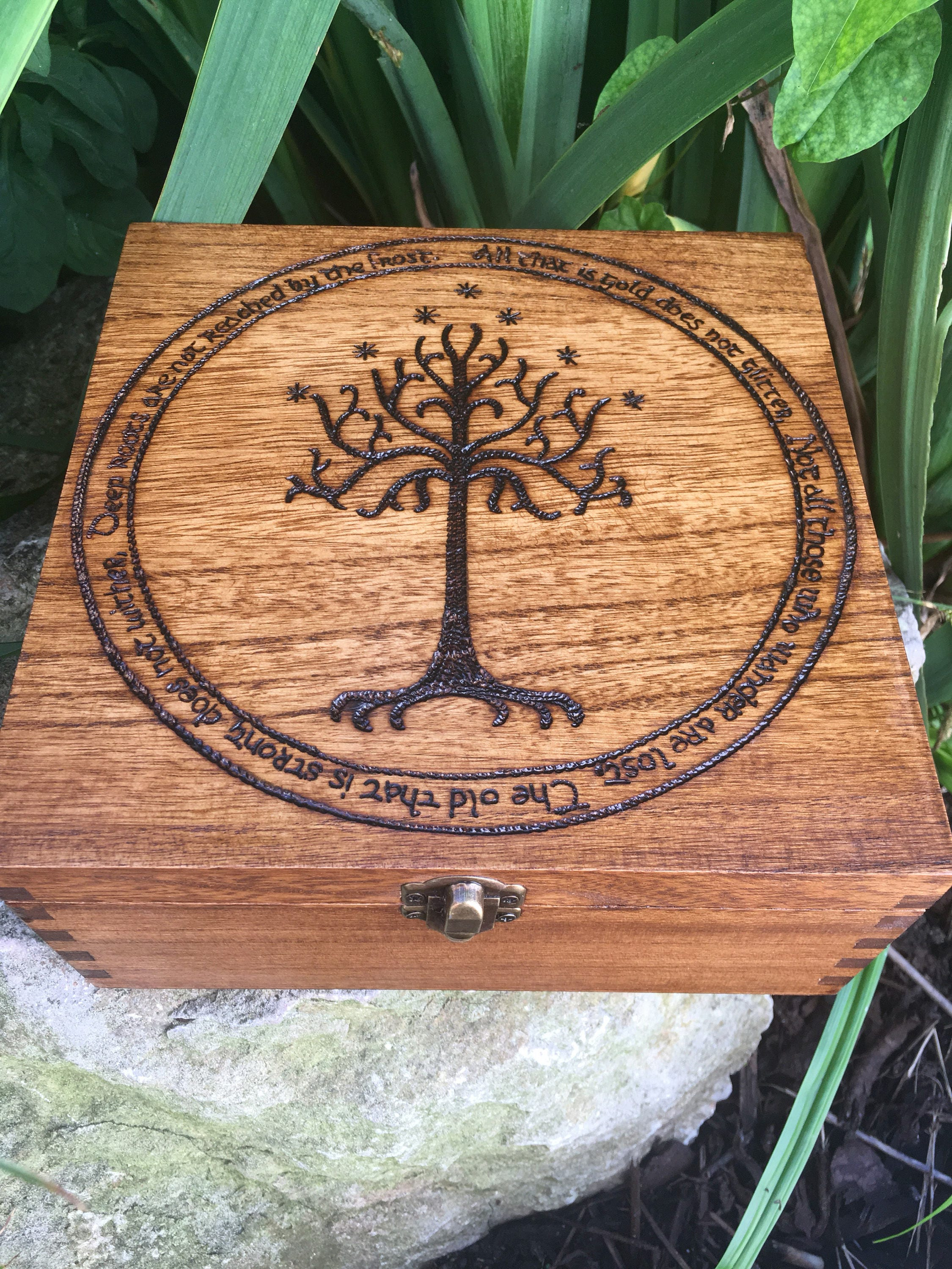 Lord of the rings inspired box jrr tolkien the hobbit zoom biocorpaavc Choice Image