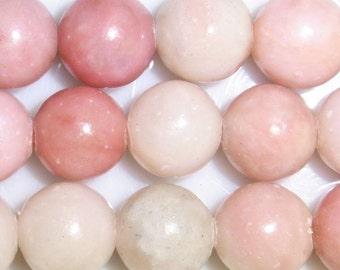 4mm/6mm/8mm/10mm/12mm Round Pink Opal Bead Semiprecious Gemstone Bead String Beading 15''L Jewelry Supply Wholesale Beads