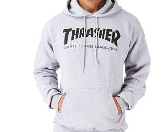 THRASHER Skater Magazine  Skateboard Unisex Hoodie Gift Souvenir,Best Quality