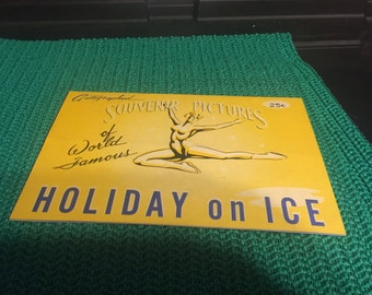 1959 Souvenir Pictures of World Famous Holiday on Ice