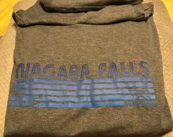 Niagara Falls/Buffalo Long Sleeve hooded tee