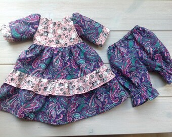 "Beautiful  dress and pants for 20"" Waldorf Doll"