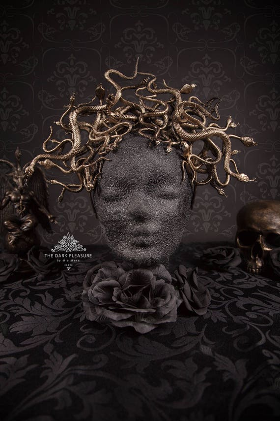 Medusa Snake Headdress