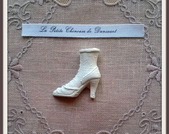Decorative plaster retro boot shape