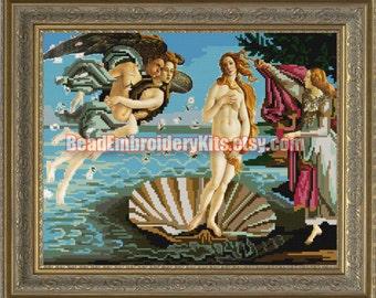 The Birth Of Venus DIY bead embroidery kit beaded painting Needlework Beadwork Sewing craft set