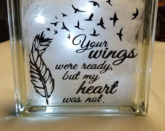 Your wings were ready to fly
