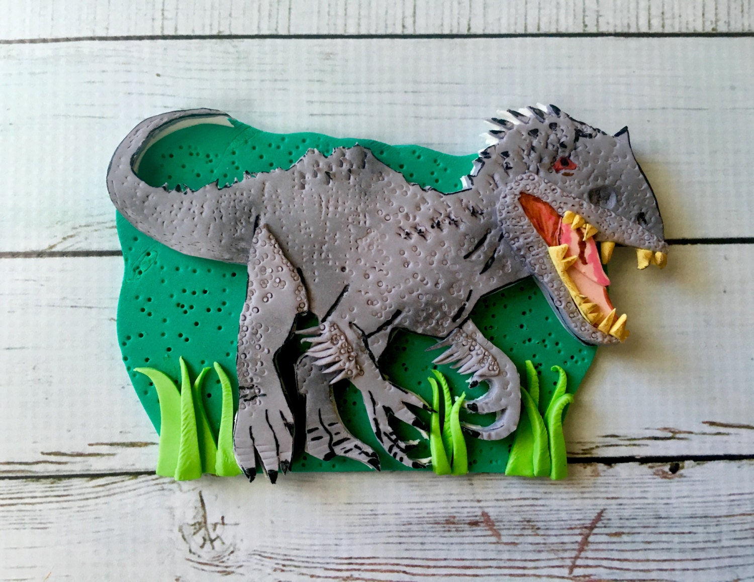 Contemporary T Rex Cake Template Adornment Entry Level Resume