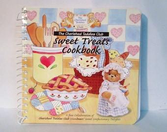 The Cherished Teddies Club Sweet Treats Cookbook Recipe Book 1996