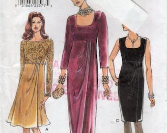 Vogue 9365, Misses' Dress Pattern, Size 18, 20, 22