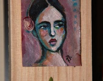 Tea Bag Portrait #4 - Marianna