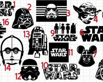 Star Wars, Star Wars Iron On, Star Wars Iron On Decal, Star Wars shirt, diy iron on, Star Wars party, Star Wars birthday, hans solo, disney