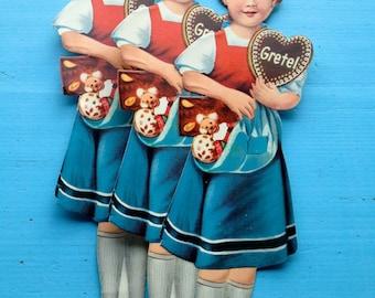 Gingerbread picture Gretel 5pcs