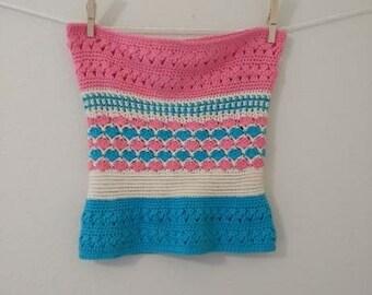Crochet Pattern - Seaside Cowl
