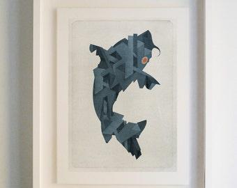 Koi - Archival Giclee Print by Eoin Ryan