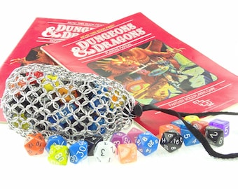 Dungeons And Dragons Dice Bag  Magic The Gathering  Large Aluminum SKDB-AL-L-SV