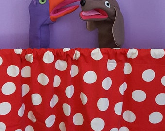Pop-up Puppet Theater