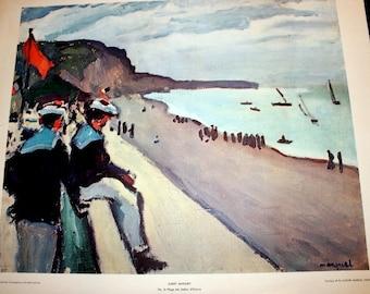 Ete, la Plage des Sables d'Olonne by Albert Marquet Fine Art Lithograph