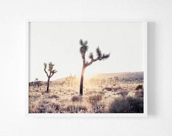 Joshua Tree Photography, Joshua Tree Print , Desert print,  Printable California Wall Art, Desert Decor California Print