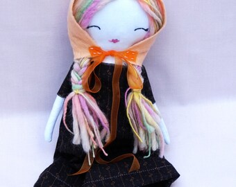 Rustic Ragdoll - Soft Doll for Kids - Baby Shower - Nursery Decor Girls - Kids Doll – Children's Doll - Plush Doll
