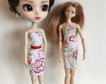 Handmade fits dolls like Pullip Momoko Doll Clothes Designs by P D Reneau (Q703)