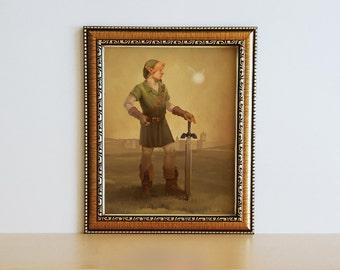 Link Portrait Print