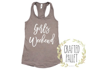 Good Times and Tan Lines Tanks/ Girls Weekend Shirts / Girls Weekend Tops / Girls Weekend Party