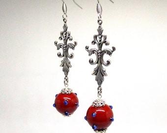 Medieval earrings.
