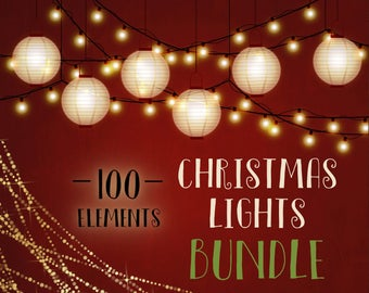 Christmas lights clipart, fairy lights clipart, Christmas overlays, Christmas clipart, xmas, lantern, lights, strings, fairy, pixie,DOWNLOAD