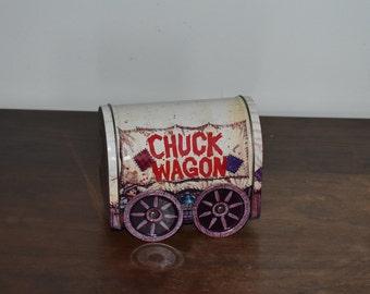 Chuck Wagon Tin