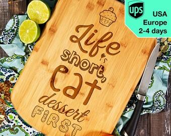 Life is short - Cutting Board