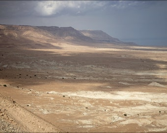 Judaean Desert - View from Masada - Color Photo Print - Fine Art Photography (IS21)