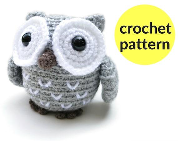 Cute Little Amigurumi Owl : Little owl amigurumi pattern crochet owl pattern plush owl