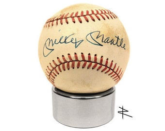 Ultra Premium Polished Autographed Baseball Display Stand