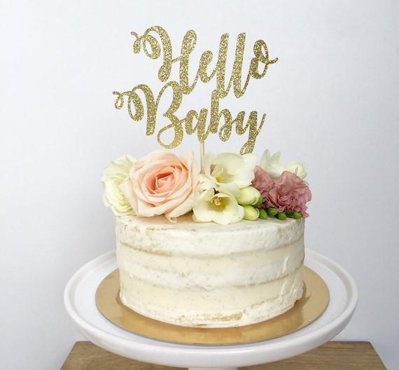 Safari Pink Baby Shower Cake