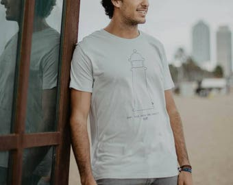 """T-shirt man """"Save This Area for equality"""" 