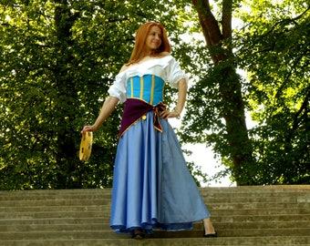 Esmeralda costume - Esmeralda cosplay - The Hunchback of Notre-Dame cosplay