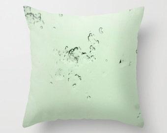 Photo Pillow Cover Decorative Mint Pillow Minimalist Pillow Green Pillow Abstract Pillow Cover