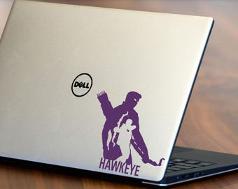 Marvel Avengers Hawkeye Decal, Multi Colors - Fluorescent