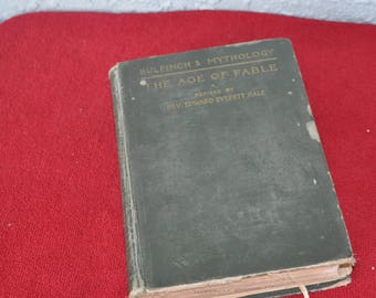 1894 The Age Of Fable Bulfinch's Mythology